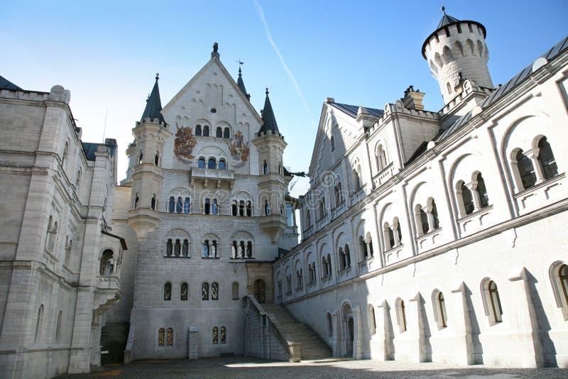 Schloss in Deutschland lizenzfreie stockfotografie