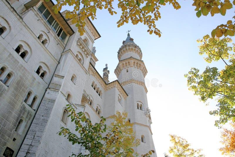 Schloss in Deutschland stockfoto