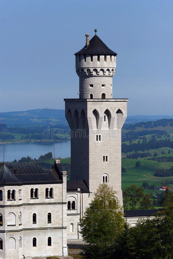 Schloss-Drehkopf stockbild