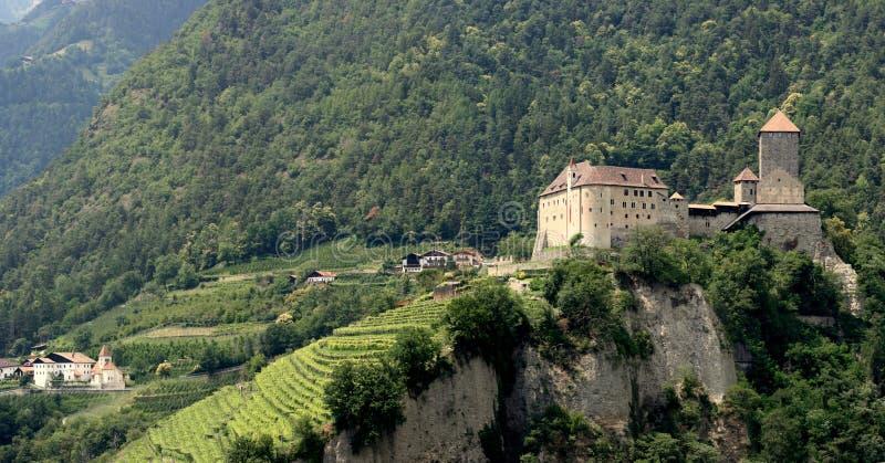 Schloss el Tirol foto de archivo libre de regalías