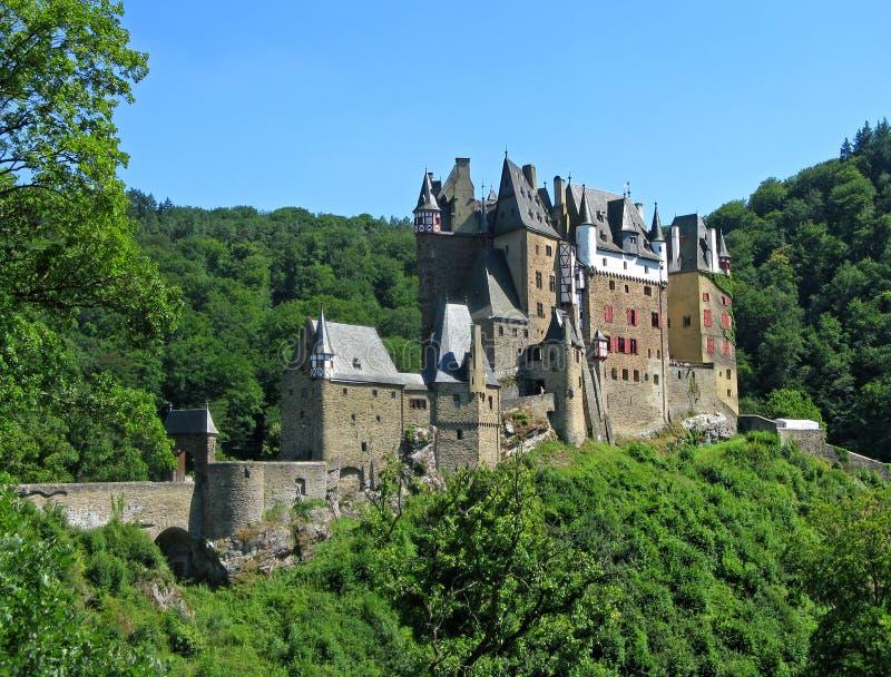 Schloss Eltz, Deutschland lizenzfreies stockbild