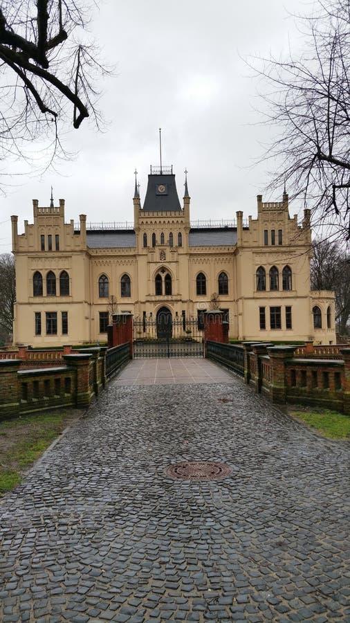 Schloss Evenburg stockfotografie