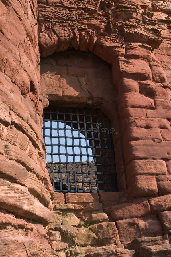 Schloss-Fenster lizenzfreie stockfotografie