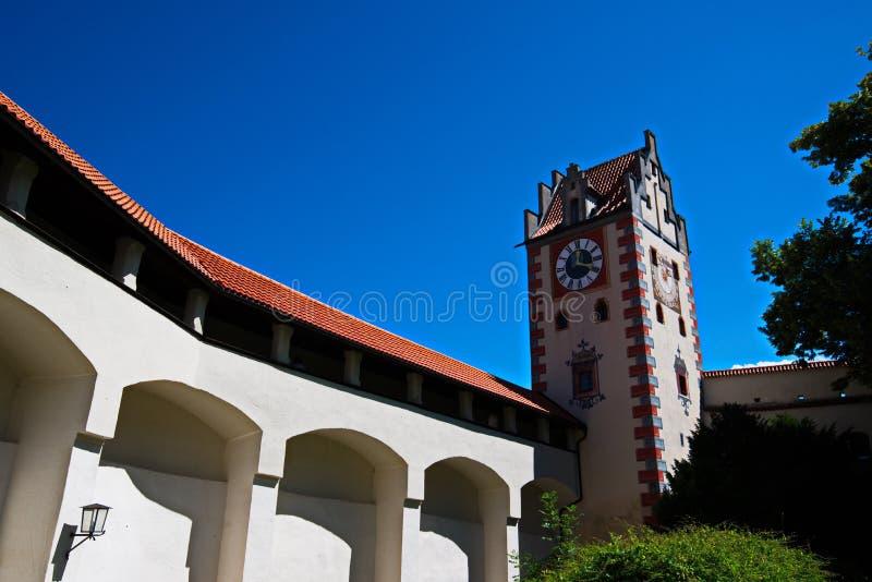 Schloss Fussen 4 - Kasteel in Oostenrijk stock afbeeldingen