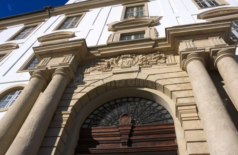 Schloss Gottorf - Eingang - ich - Schleswig lizenzfreies stockbild