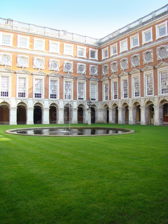 Schloss in Großbritannien lizenzfreies stockfoto