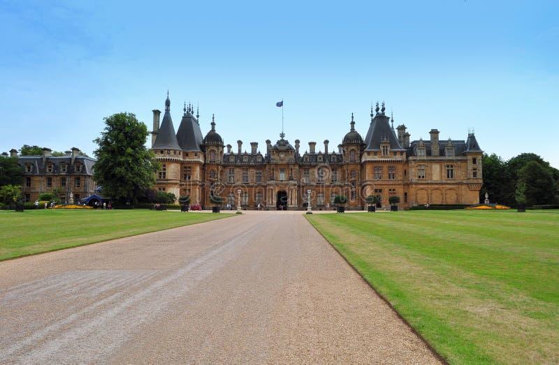Schloss in Großbritannien stockbilder