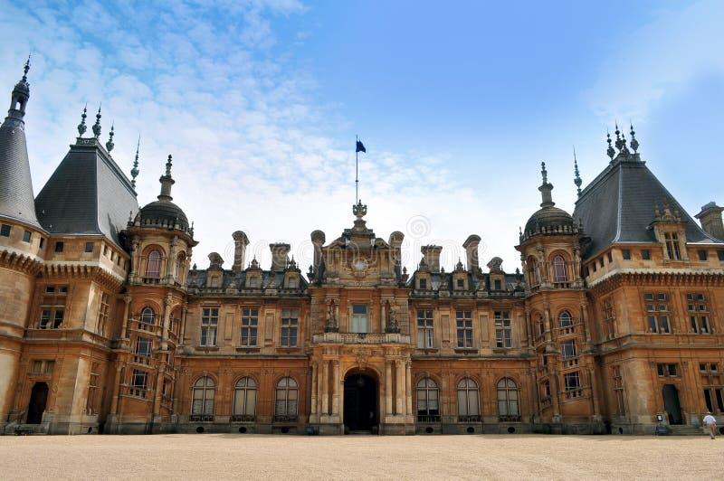 Schloss in Großbritannien stockfotos