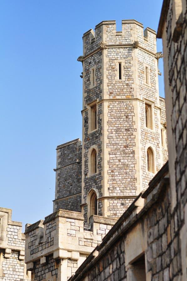 Schloss in Großbritannien stockbild