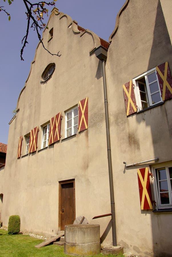 Schloss Harburg imagem de stock