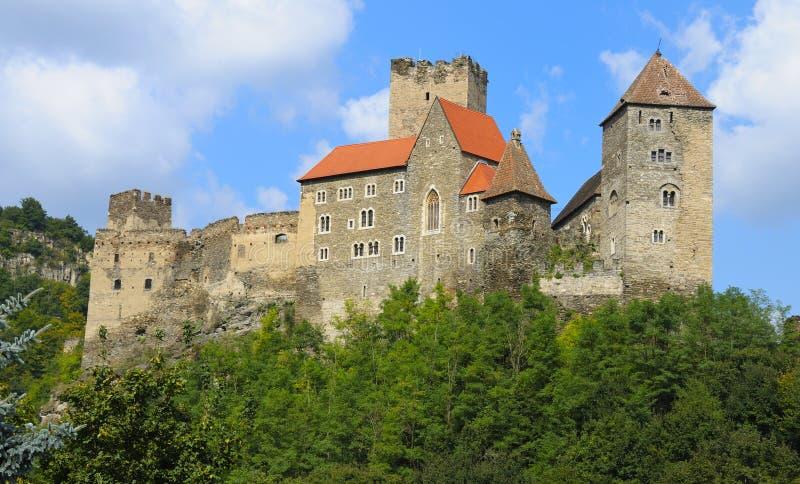 Schloss Hardegg lizenzfreie stockbilder