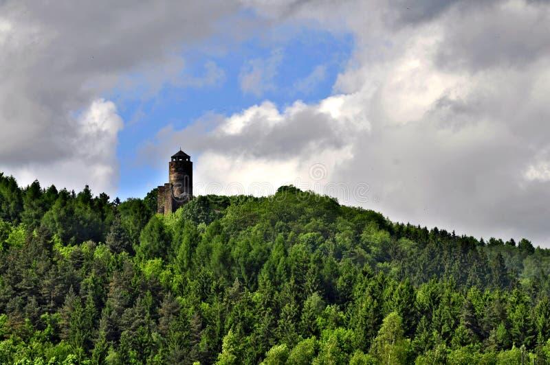 Schloss Hasistejn lizenzfreie stockbilder