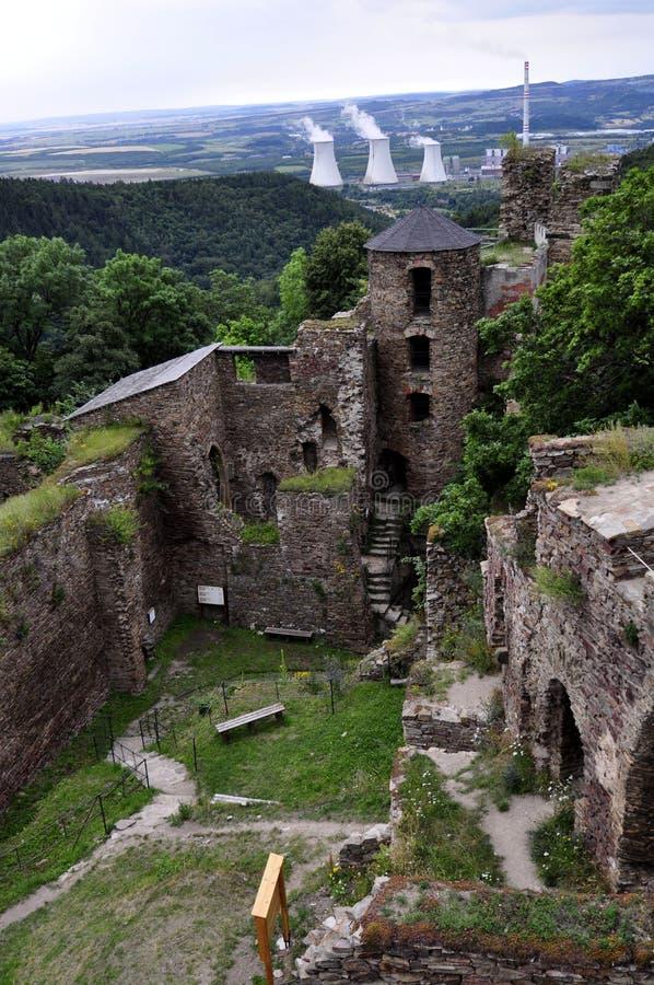 Schloss Hasistejn lizenzfreie stockfotos
