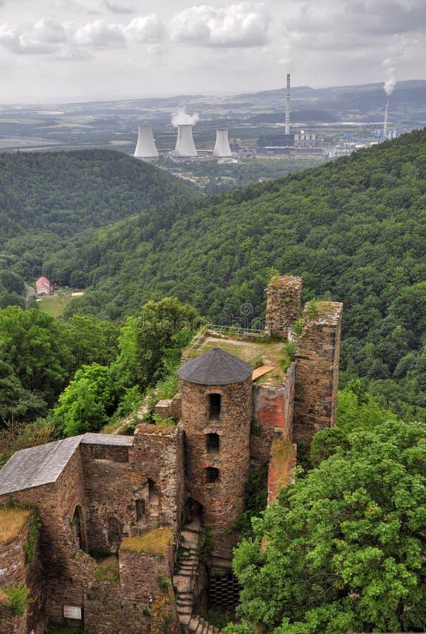 Schloss Hasistejn lizenzfreies stockfoto