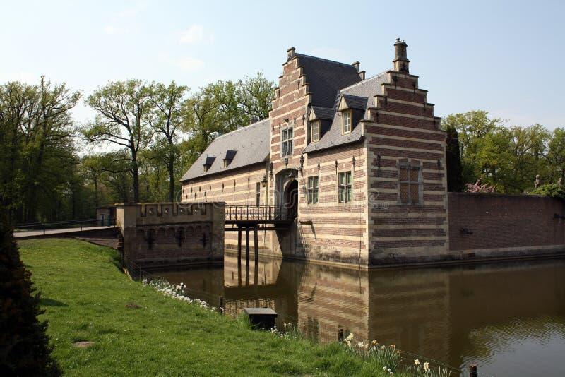 Schloss Heeswijk stockbilder