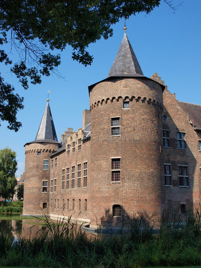 Schloss, Helmond, die Niederlande lizenzfreie stockfotos