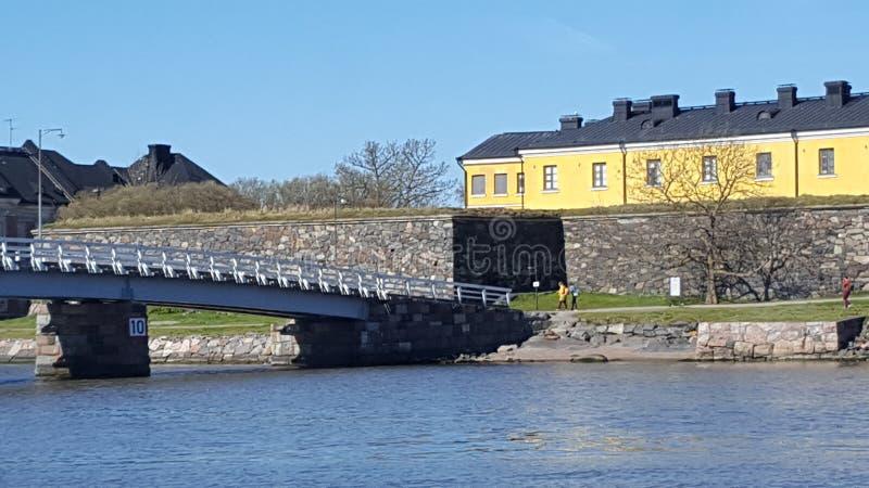 Schloss in Helsinki finnland lizenzfreie stockfotos
