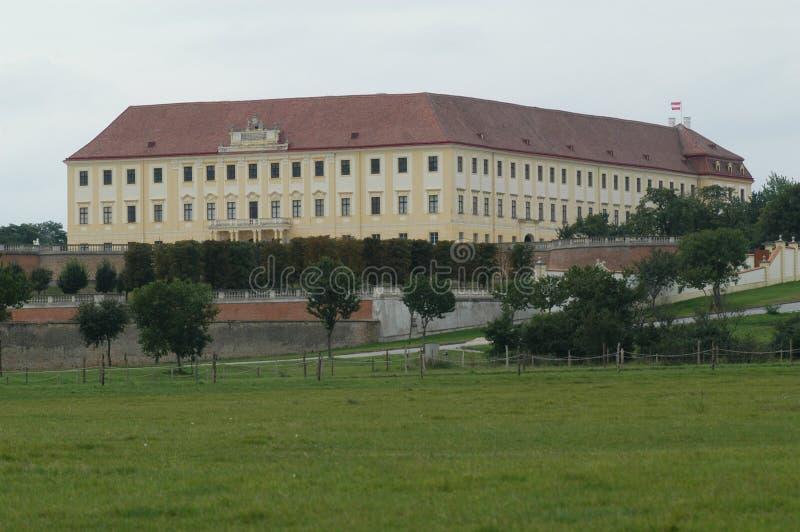 Schloss Hof. Castle Schloss Hof in Austria stock images