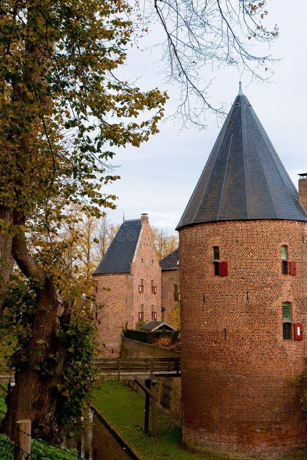 Schloss huis 10 Berg stockbild