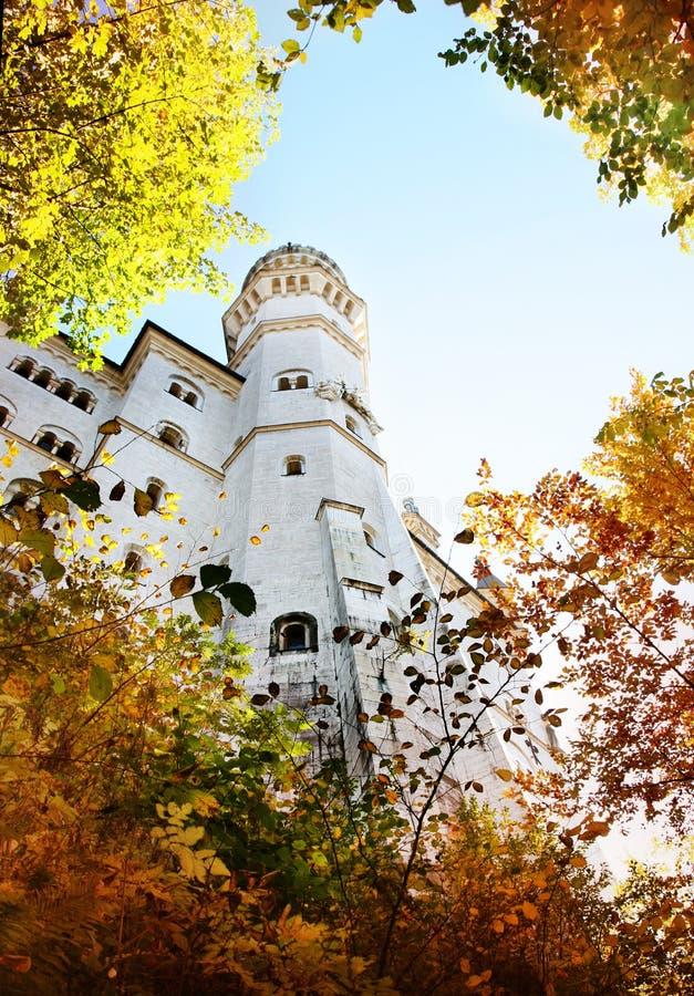 Schloss im Bayern stockfotos