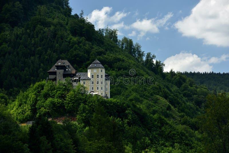 Schloss Klaus, Oberosterreich, Австрия стоковое фото rf