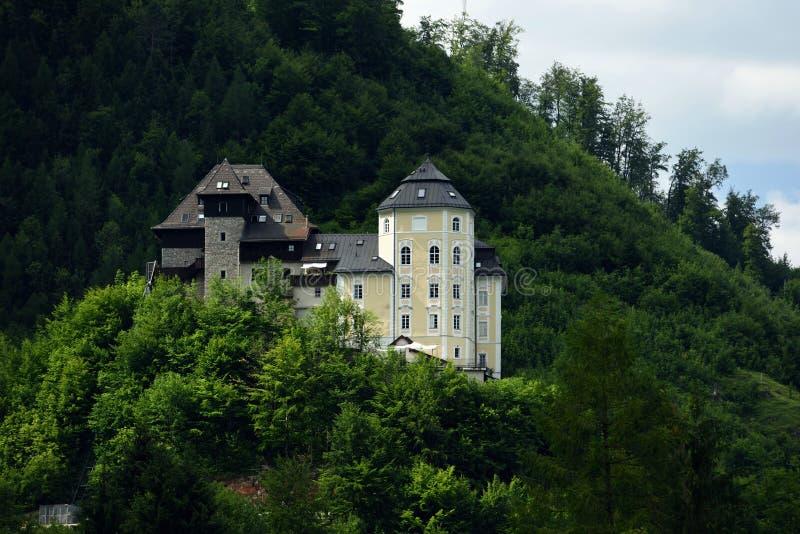 Schloss Klaus, Oberosterreich, Австрия стоковая фотография rf