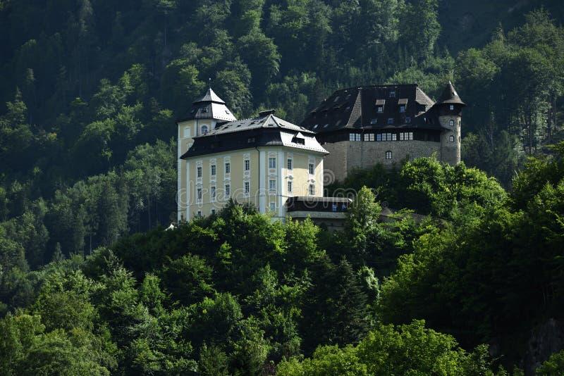 Schloss Klaus, Oberosterreich, Австрия стоковые изображения