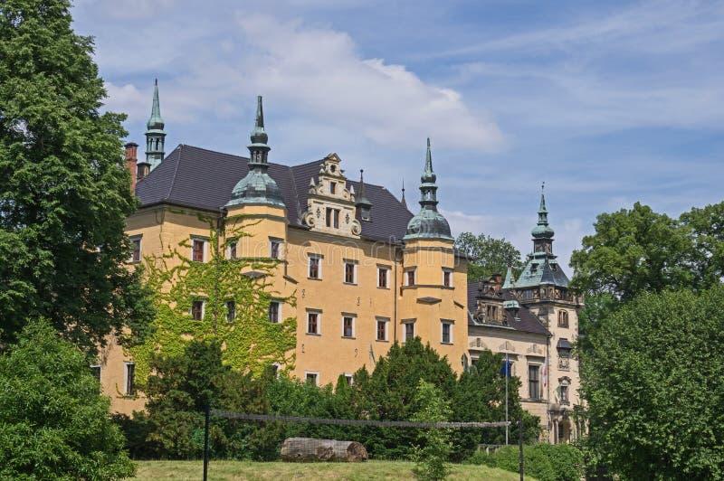 Schloss KliczkÃ-³ w stockbilder