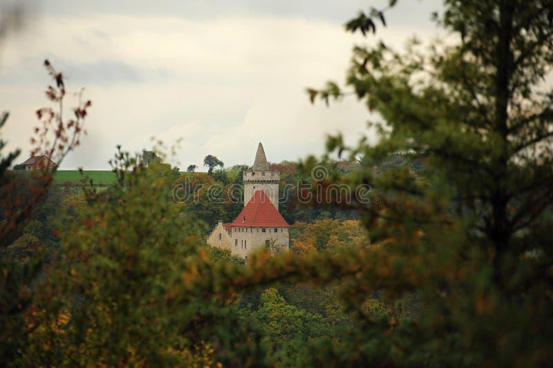 Schloss Kokorin lizenzfreie stockfotos