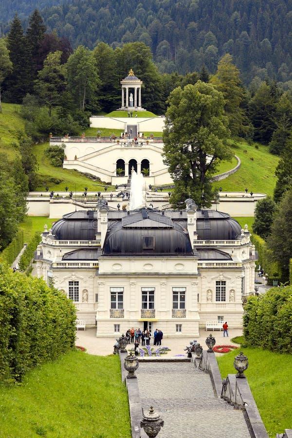 Schloss Linderhof stock foto