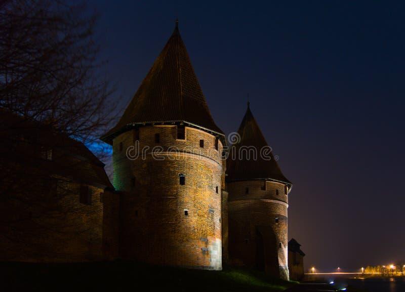 Schloss Malbork lizenzfreies stockfoto