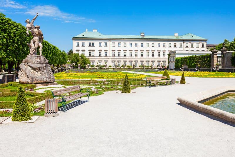 Schloss Mirabell宫殿,萨尔茨堡 库存图片
