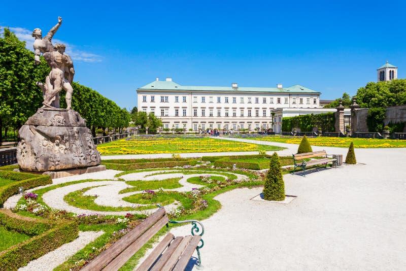 Schloss Mirabell宫殿,萨尔茨堡 免版税库存照片