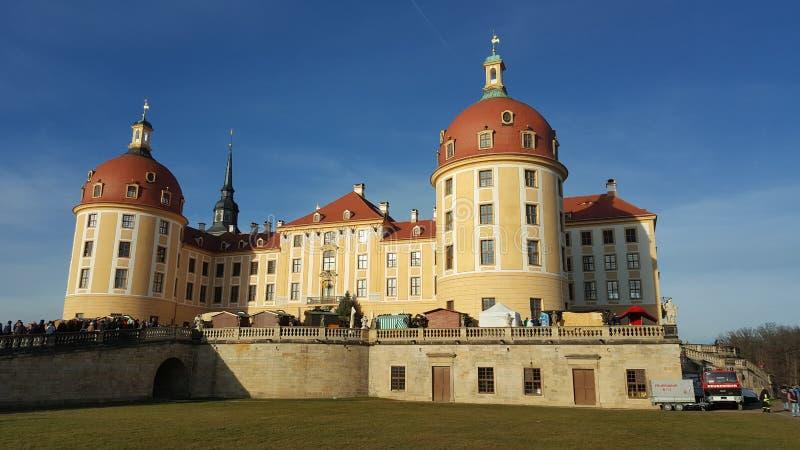 Schloss Moritzburg immagine stock libera da diritti