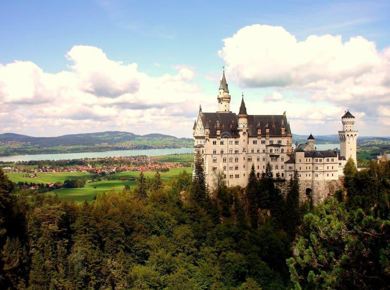 Schloss Neuschwanstein image libre de droits