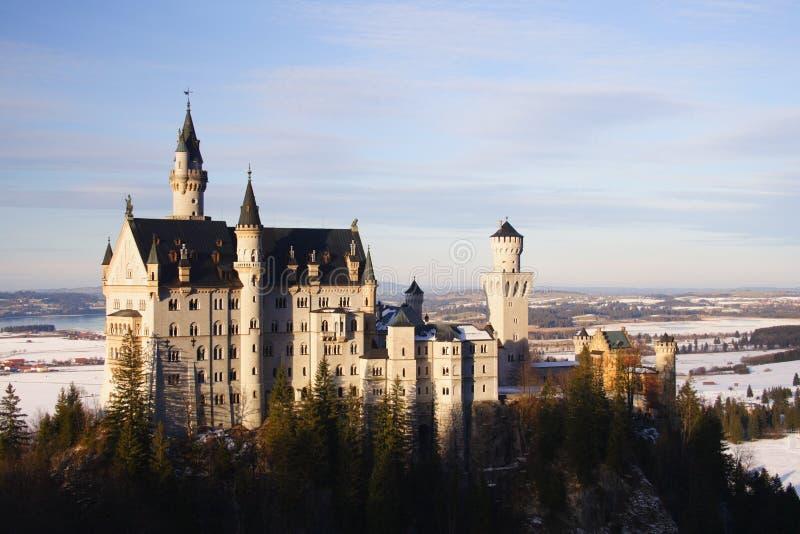 Schloss Neuschwanstein stockbild