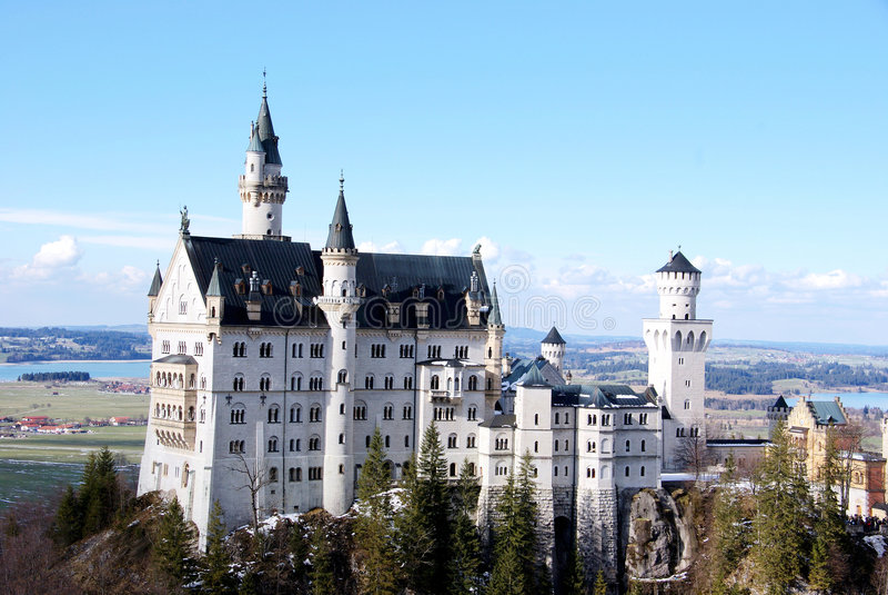 Schloss Neuschwanstein fotografía de archivo libre de regalías