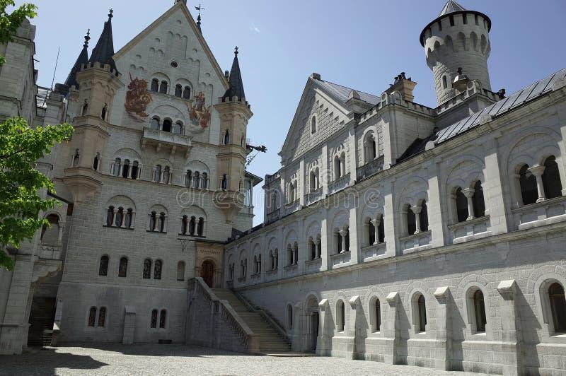 Schloss Neuschwanstein, Bayern royaltyfria bilder