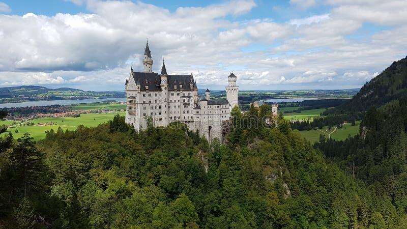 Schloss Neuschwanstein fotografia stock