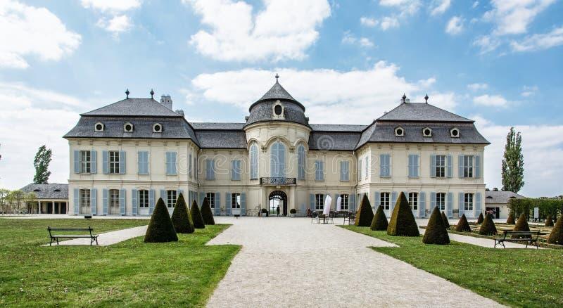 Schloss Niederweiden in Oostenrijk royalty-vrije stock foto's