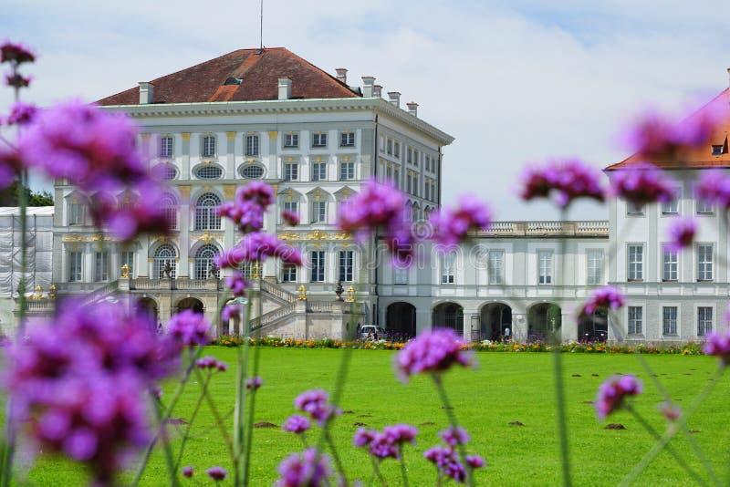 Castle Nymphenburg in Munich Bavaria royalty free stock photos