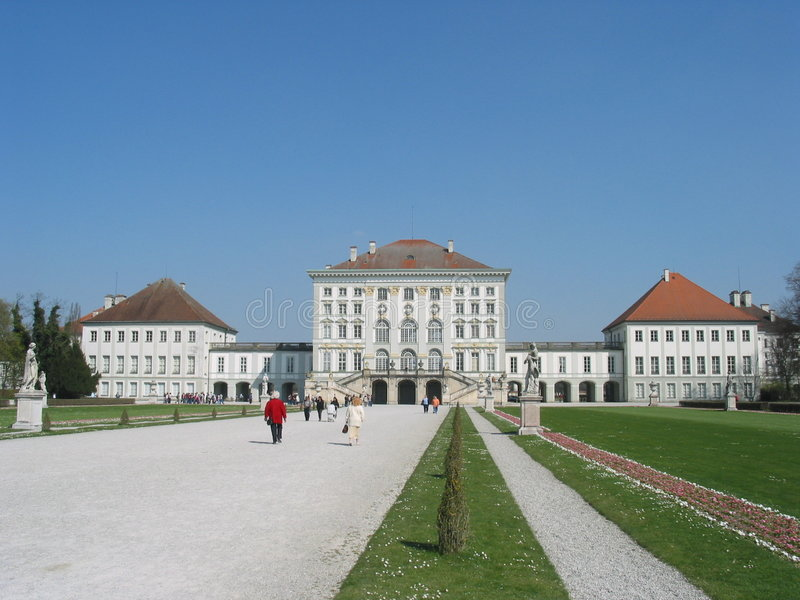 Download Schloss Nymphenburg, Munich, Germany Stock Photo - Image of europe, garden: 154888