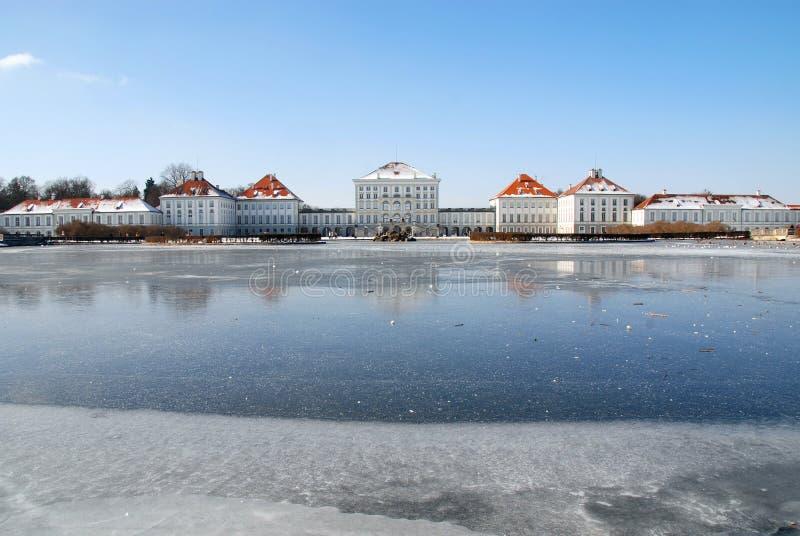 Schloss Nymphenburg royalty free stock photo