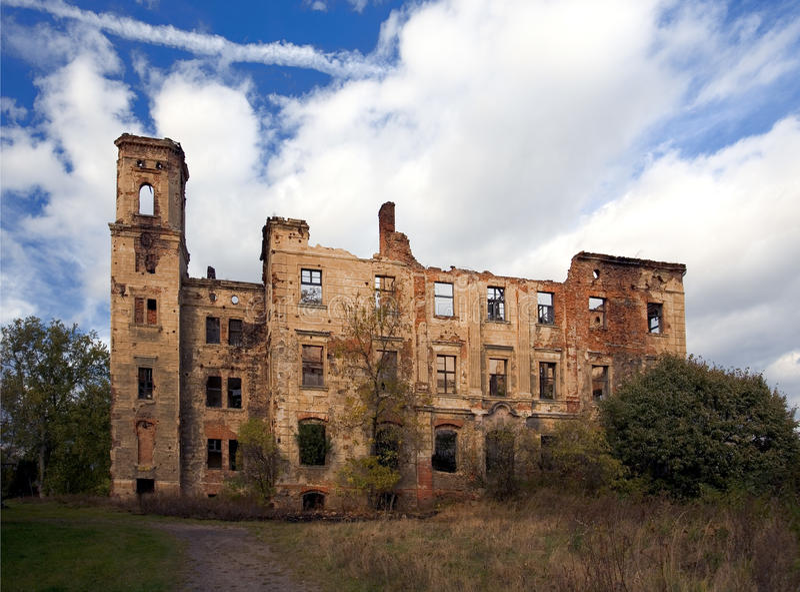 Schloss in Polen lizenzfreie stockfotografie