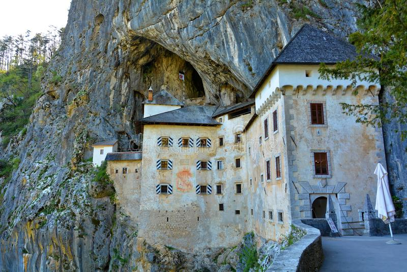 Schloss Predjama, Slowenien stockfoto