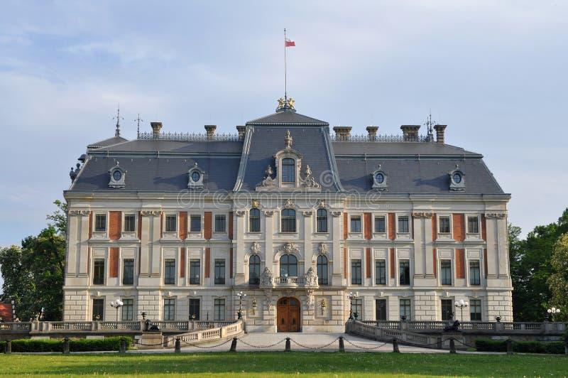 Schloss Pszczyna, Polen, Europa, lizenzfreie stockfotos