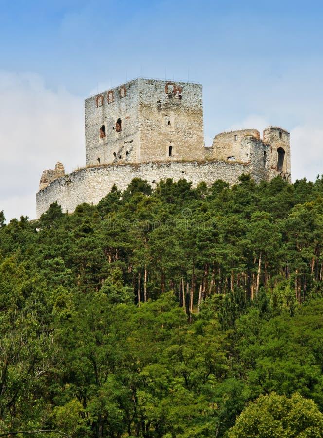 Schloss Rabi lizenzfreie stockfotos