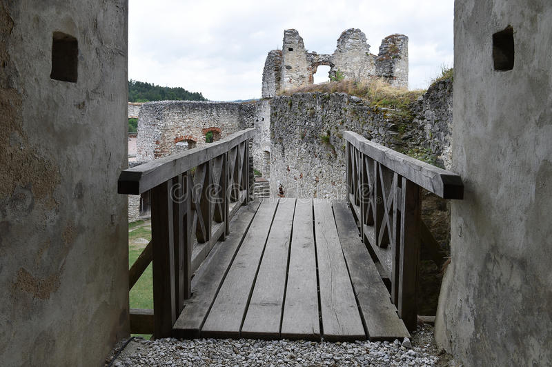 Schloss Rabi lizenzfreie stockfotografie