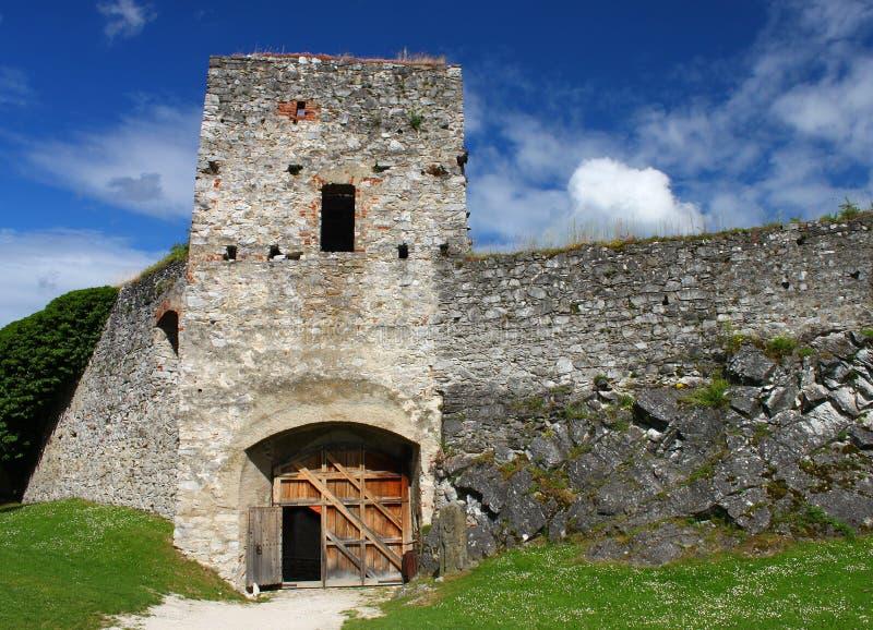 Schloss Rabi Süd-Böhmen stockfoto