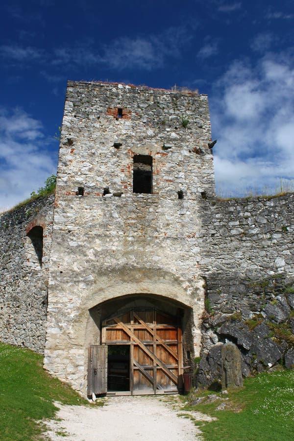 Schloss Rabi Süd-Böhmen stockbild
